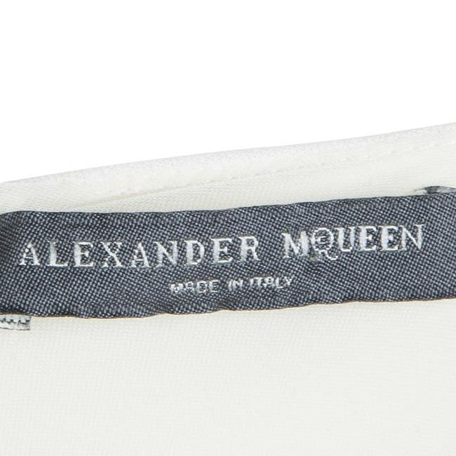 Multicolor Maxi Dress by Alexander McQueen Monochrome Knit Draped Sleeveless Rayon Image 3