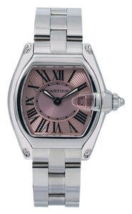 Cartier Cartier Roadster W62016V3 36MM Pink Dial With Stainless Steel