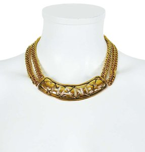 Chanel Chanel Vintage Iconic Cut Out Choker Necklace