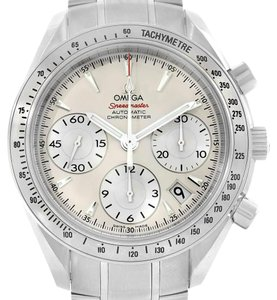Omega Omega Speedmaster Day Date Silver Dial Mens Watch 323.10.40.40.02.001