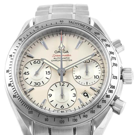 Omega Omega Speedmaster Day Date Silver Dial Mens Watch 323.10.40.40.02.001 Image 1