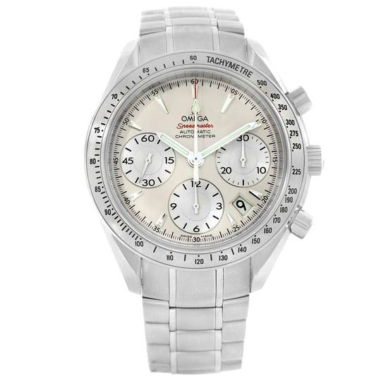 Omega Omega Speedmaster Day Date Silver Dial Mens Watch 323.10.40.40.02.001 Image 2