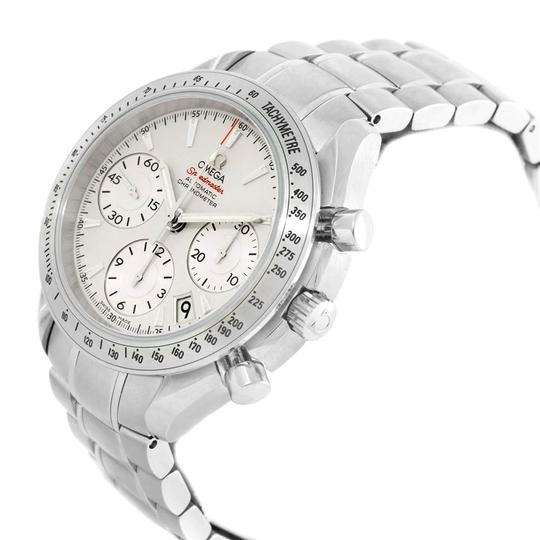 Omega Omega Speedmaster Day Date Silver Dial Mens Watch 323.10.40.40.02.001 Image 4