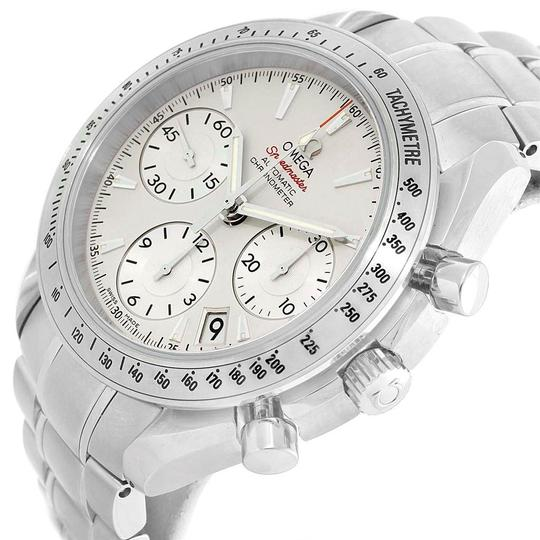 Omega Omega Speedmaster Day Date Silver Dial Mens Watch 323.10.40.40.02.001 Image 5