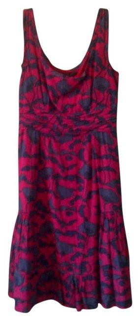Marc by Marc Jacobs short dress Pink with blue pattern on Tradesy