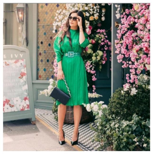 Preload https://item2.tradesy.com/images/zara-green-2297-mid-length-cocktail-dress-size-12-l-25764671-0-1.jpg?width=400&height=650
