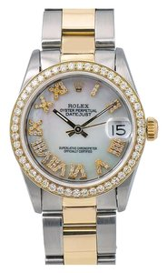 Rolex Rolex Lady-Datejust 68273 31MM Mother of Pearl Dial With Two Tone
