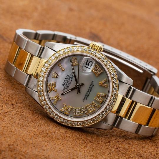 Rolex Rolex Lady-Datejust 68273 31MM Mother of Pearl Dial With Two Tone Image 1