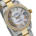 Rolex Rolex Lady-Datejust 68273 31MM Mother of Pearl Dial With Two Tone Image 2