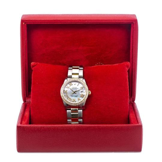 Rolex Rolex Lady-Datejust 68273 31MM Mother of Pearl Dial With Two Tone Image 5