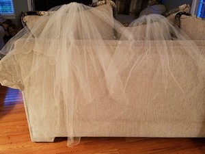 David's Bridal Medium To Match Dress Also Listed Bridal Veil