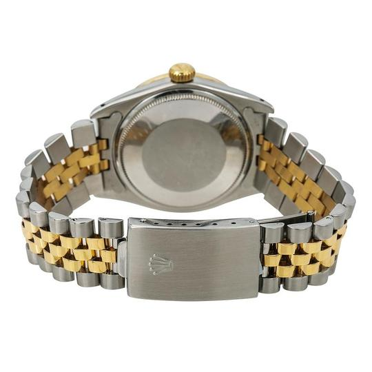 Rolex Rolex Oyster Perpetual Date 1500 34MM Mother of Pearl Diamond Dial Image 4