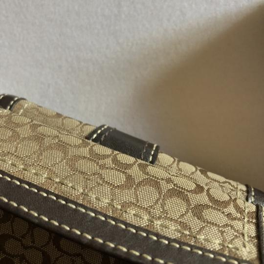 Coach Coach Brown 'Signature C' Wallet Image 3