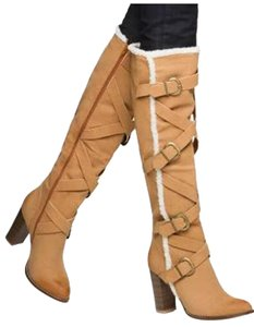 Leila Stone Camel Boots