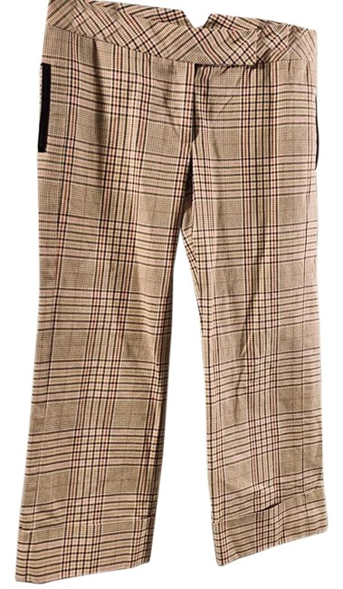 Preload https://img-static.tradesy.com/item/25764838/diane-von-furstenberg-beige-larry-plaid-95-cotton-3-polyester-2-viscose-dry-clean-only-pants-size-8-0-1-650-650.jpg
