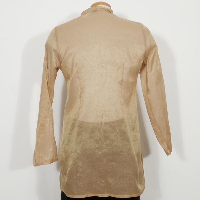 Eileen Fisher Top Antique Gold Image 2