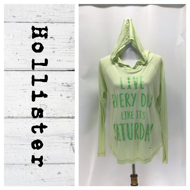Preload https://img-static.tradesy.com/item/25764864/hollister-green-hooded-long-sleeve-tee-shirt-size-6-s-0-0-650-650.jpg