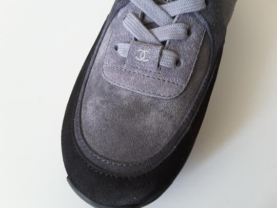 Chanel Sneakers Trainers Suede Black Athletic Image 9