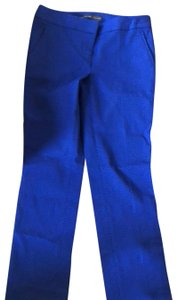 The Limited Trouser Pants blue with black polka dots