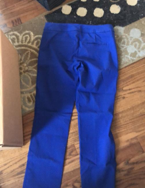 The Limited Trouser Pants blue with black polka dots Image 1