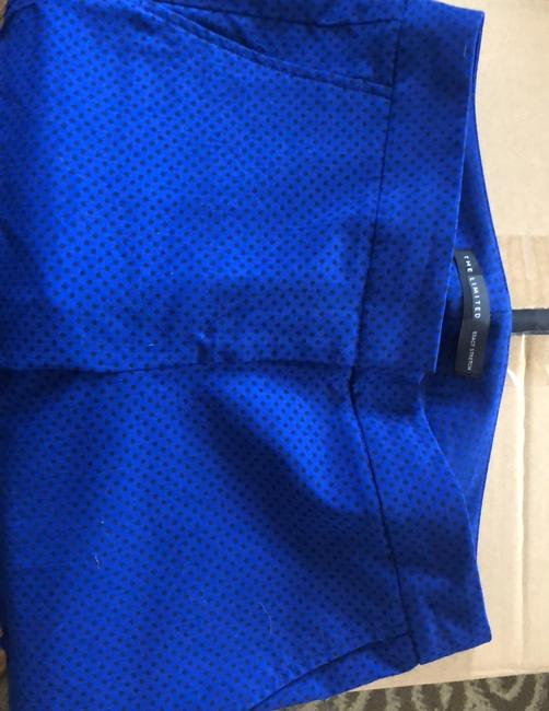 The Limited Trouser Pants blue with black polka dots Image 2
