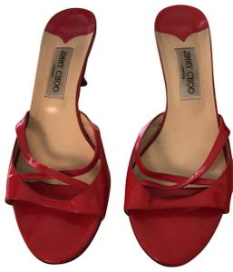 Jimmy Choo red/pink Sandals