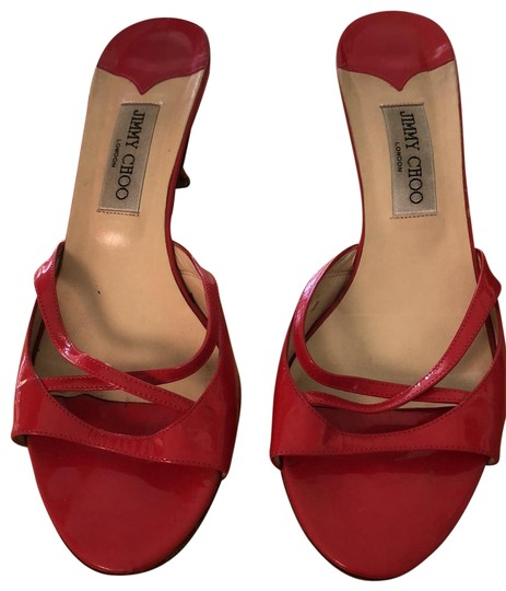 Jimmy Choo red/pink Sandals Image 0