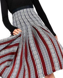 Zara Pleatedskirt Pleated Accordionpleats Skirt Multicolor