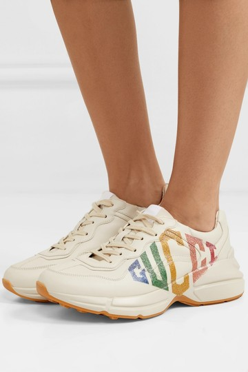 Gucci Leather Sneaker Athletic Image 3