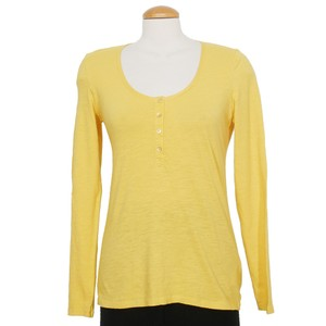 Eileen Fisher Top Candlelight Yellow