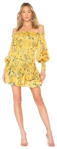 Alexis short dress Yellow on Tradesy