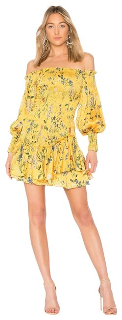 Alexis short dress Yellow on Tradesy Image 0