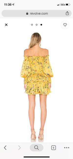 Alexis short dress Yellow on Tradesy Image 10