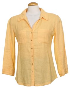 Eileen Fisher Top Cantaloupe Orange