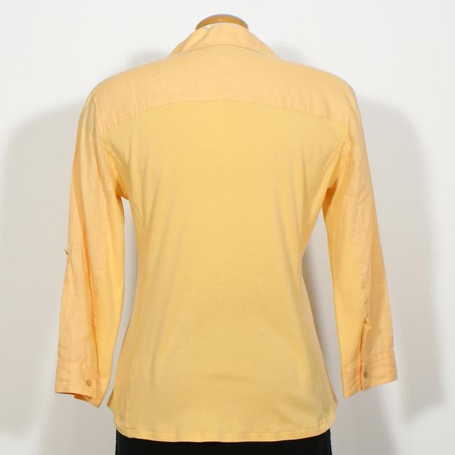 Eileen Fisher Top Cantaloupe Orange Image 1