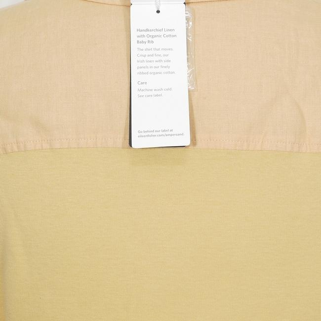 Eileen Fisher Top Cantaloupe Orange Image 2
