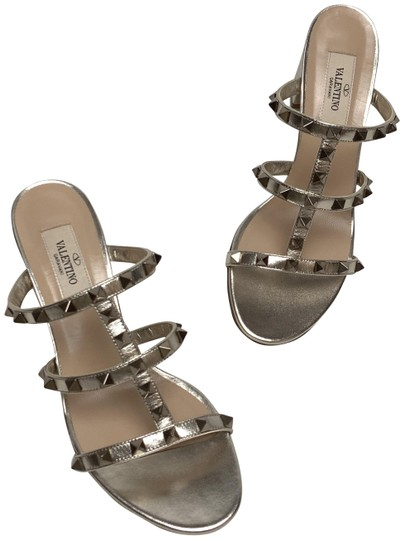 Valentino Gold Sandals Image 0