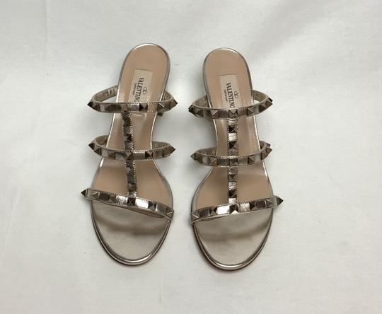 Valentino Gold Sandals Image 2