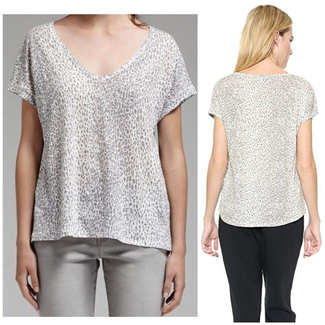 Preload https://img-static.tradesy.com/item/25765111/joie-gray-omnira-leopard-printed-tee-shirt-size-4-s-0-3-650-650.jpg