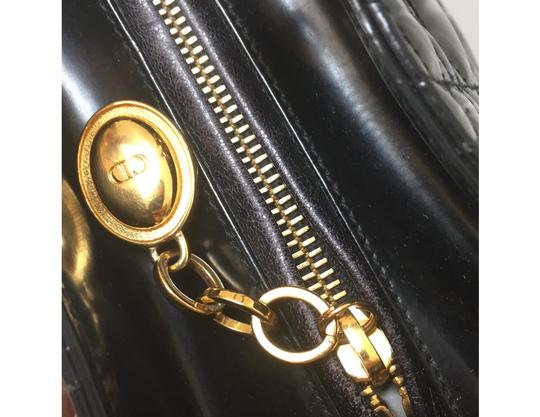 Dior Satchel in Black Image 6