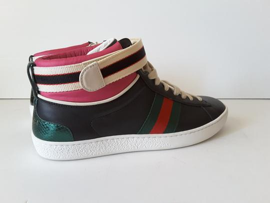 Gucci Sneakers High Top Black multicolor Athletic Image 2