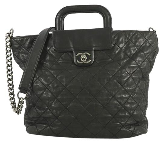 Preload https://img-static.tradesy.com/item/25765176/chanel-shopping-in-the-mix-quilted-iridescent-large-black-calfskin-leather-tote-0-1-540-540.jpg
