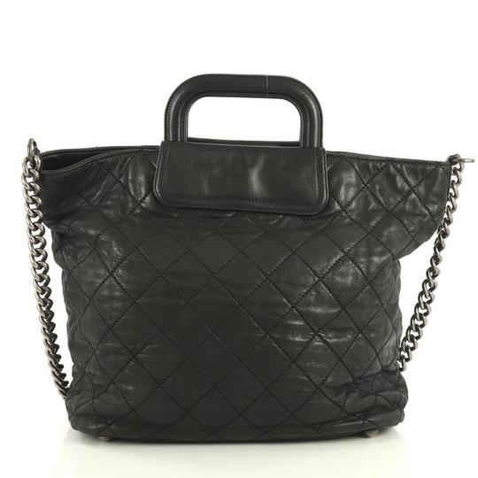 Chanel Shopping Calfskin Tote in black Image 3