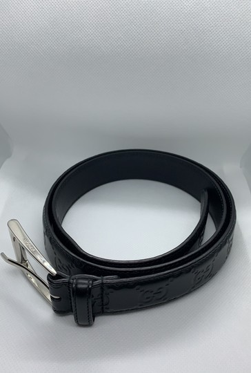 Gucci Gucci Monogram Leather Belt Image 3