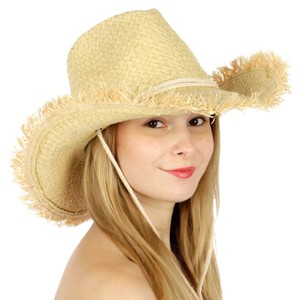 cowboy hat Frayed edge cowboy Sun hat