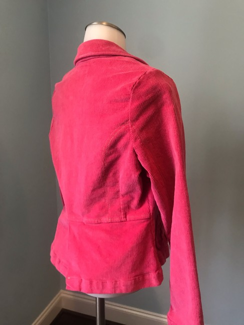 Anthropologie Tulle Corderoy Coral Pink Blazer Image 1