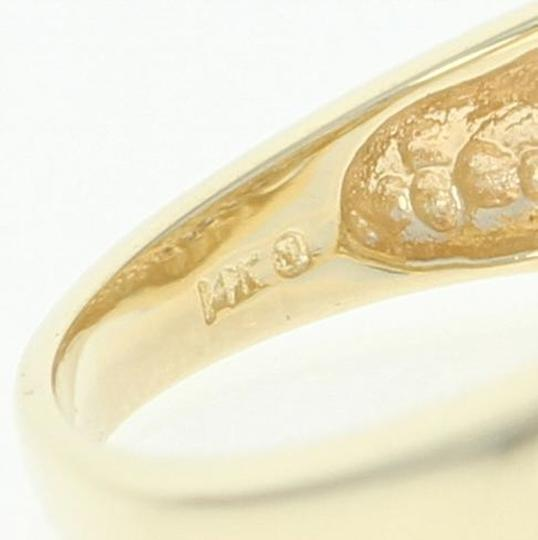Wilson Brothers Jewelry .50ctw Round Brilliant Diamond Ring - 14k Yellow Gold Bypass U4288 Image 2