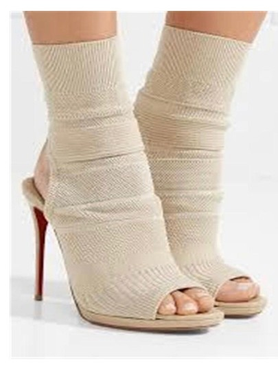 Christian Louboutin beige Boots Image 1