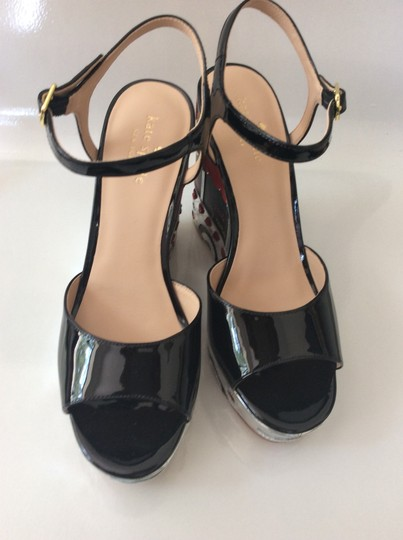 Kate Spade black, silver, yellow and red Sandals Image 4