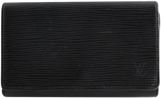 Preload https://img-static.tradesy.com/item/25765412/louis-vuitton-black-tresor-epi-leather-wallet-0-1-540-540.jpg